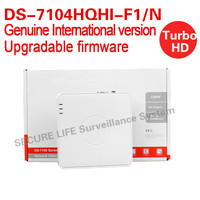 English Version DS 7104HQHI F1 N 4ch Turbo HD DVR 1080P Lite Mode With 1SATA Ports