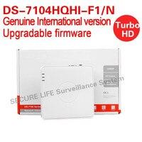 English Version DS 7104HQHI F1 N 4ch Turbo HD DVR 1080P Lite Mode With 1SATA Ports