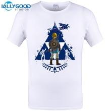 The Legend Of Zelda T-Shirt Breathe Design Mens T-shirt Short Sleeve T Shirt Cool Men Tops Novelty Tee Plus Size 6XL 5XL 4XL