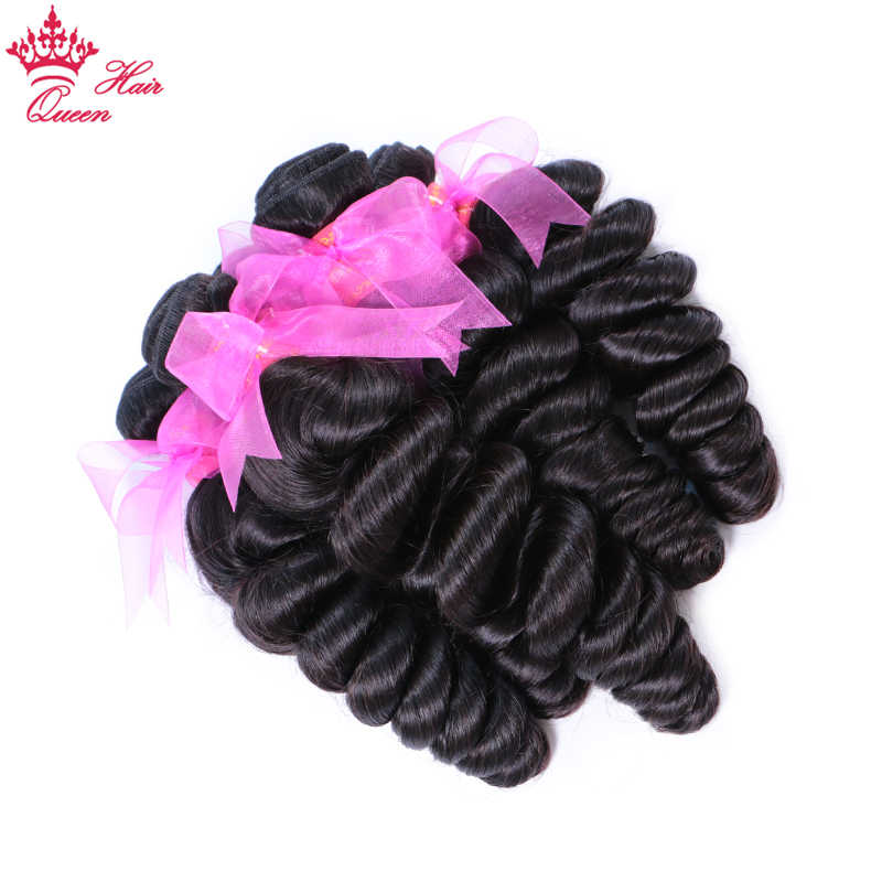 Queen Hair Products Virgin Hair Loose Wave 10PCS /Lot Human Hair Bundles DHL Fast Free Shipping 10inch to 20inch in stock Natura
