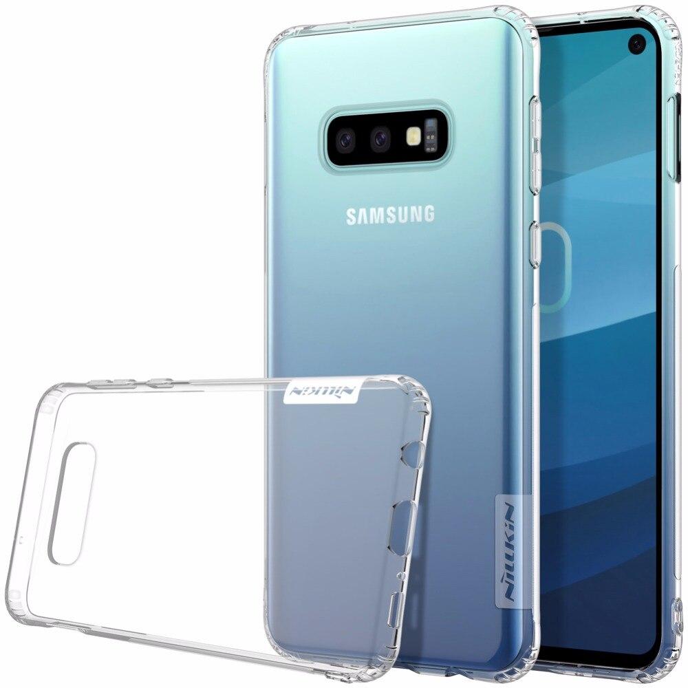 Case For Samsung Galaxy S10e Nature TPU Transparent Case For Samsung Galaxy S10 / S10 Plus / S10E Clear Soft Back Case