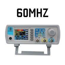 Sterowanie cyfrowe JDS6600 MAX 60MHzDual channel generator sygnału funkcji dds miernik częstotliwości arbitralny przebieg sinusoidalny 40% off