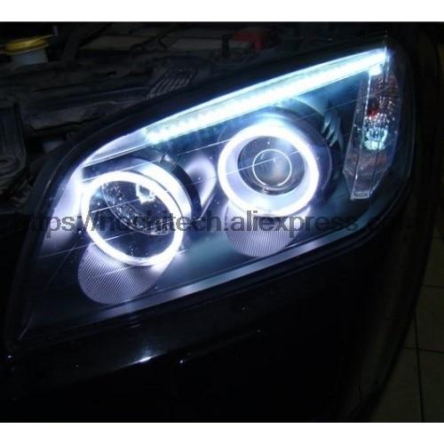 HochiTech pour CHEVROLET CAPTIVA S3X 2006-2011 car styling Ultra Lumineux CCFL Ange Démon Yeux Kit Chaud Blanc Halo anneau