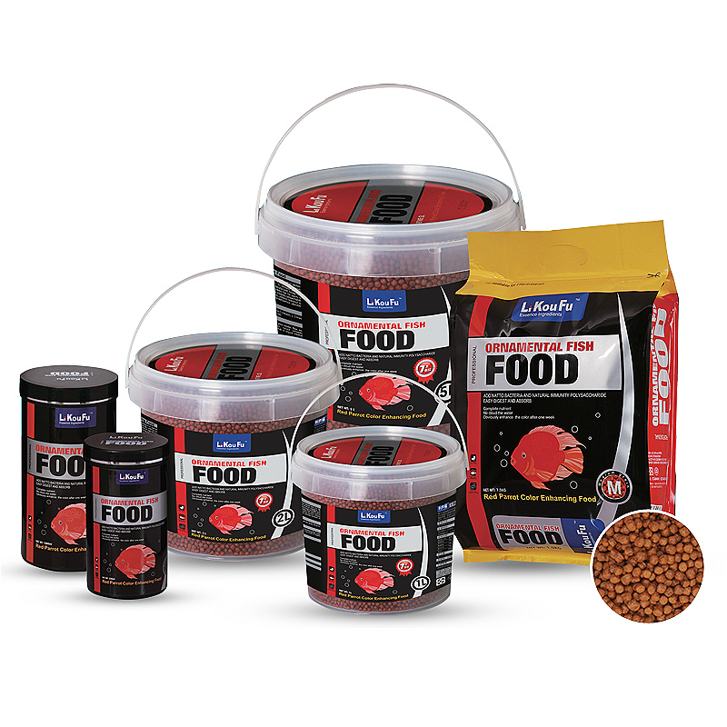 Blood Parrot Fish Food 100% Increase Color Red Fish Feed Tropical Fish Feed For Aquarium Ornamental Fish