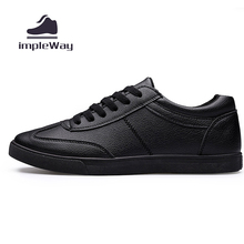 Men shoes casual white black lace up luxury brand breathable solid flats mens trainers shoes sport skate shoes zapatos hombre