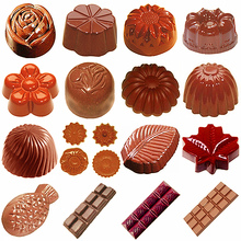 3D шоколадные батончики формы Поликарбонат форме Моул chocolat лоток для выпечки кондитерских Пластик приспособления для выпечки для шоколада формы для выпечки