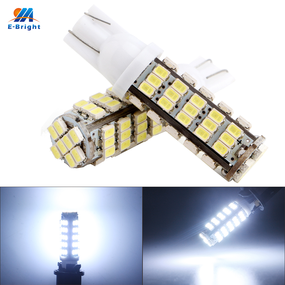 Super Bright 100x T10 68 SMD 194 168 1206 68 SMD LED light Bulbs Super white