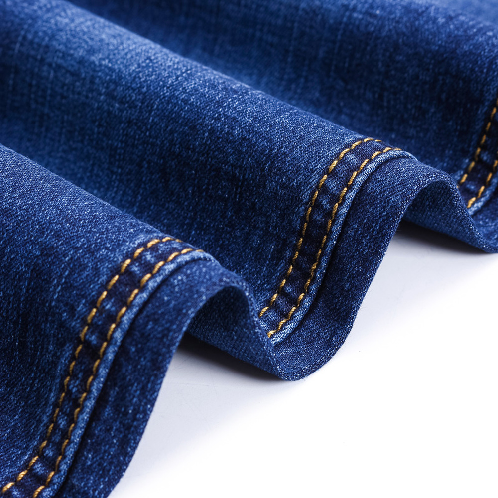 Men Cotton Straight Classic Jeans Spring Autumn Male Slim fit Denim Pants Overalls Designer High elasticity Jeans Size 28-38