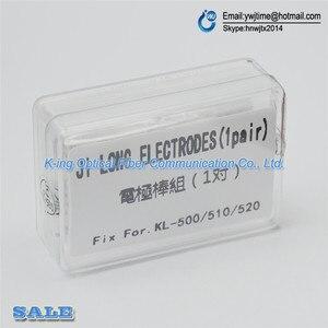 Image 1 - Free shipping NEW Electrodes for Jilong kl 510 kl510 kl 520 kl 500 Fusion Splicer Electrodes