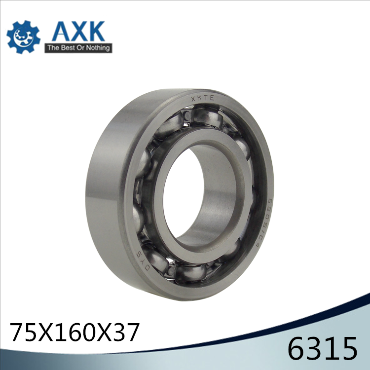 6315 Bearing 75*160*37 mm ABEC-3 P6 ( 1 PC ) For Motorcycles Engine Crankshaft 6315 OPEN Ball Bearings Without Grease6315 Bearing 75*160*37 mm ABEC-3 P6 ( 1 PC ) For Motorcycles Engine Crankshaft 6315 OPEN Ball Bearings Without Grease
