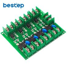 DC control four-way FET MOS electronic switch control board pulse trigger switch
