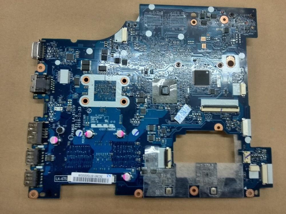 Original New For Lenovo g575 G575GX Laptop motherboard PAWGD LA-6757P Rev 1.0 with AMD cpu georgia o keeffe