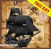 804Pcs LEPIN 16006 Pirates Of The Caribbean 4184 The Black Pearl Ship Model Building Kit Blocks
