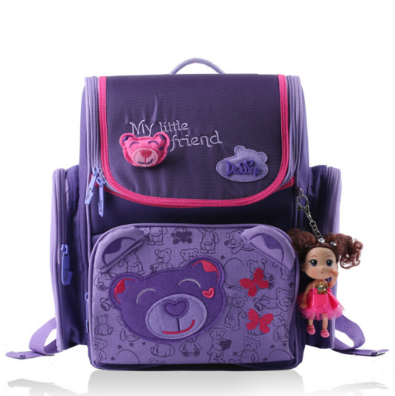 girl high quality butterfly school backpacks nylon backpack women kids waterproof nylon orthopedic school bag princess backpack