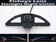 Fisheye Lens Trajectory Tracks Car Rear view Camera For Honda Ballade 2011~2015 City 5 Generation GM2 GM3 2007~2013