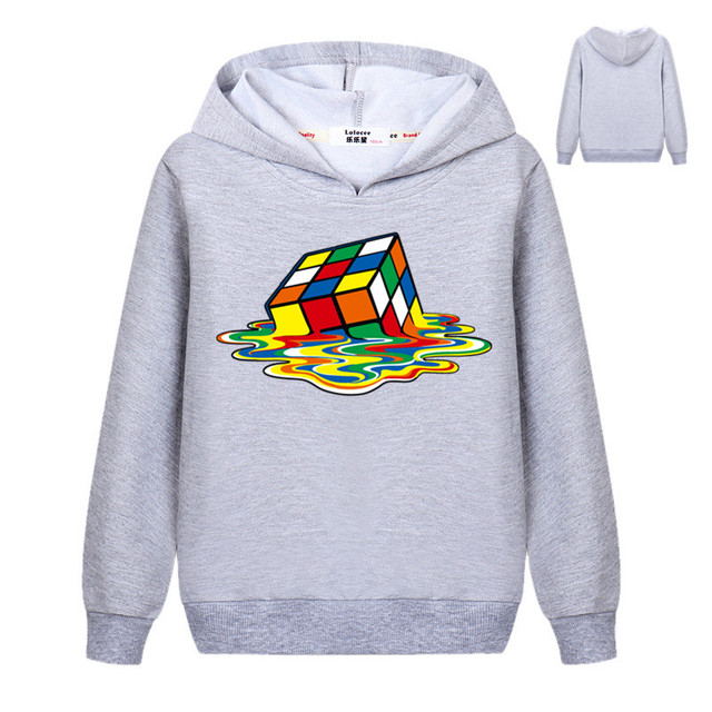 The Big Bang Theory Print Stylish Design Cube Pullover Hoodie Casual Cool Sweatshirts Student Tracksuit Clothes for Girls Boys