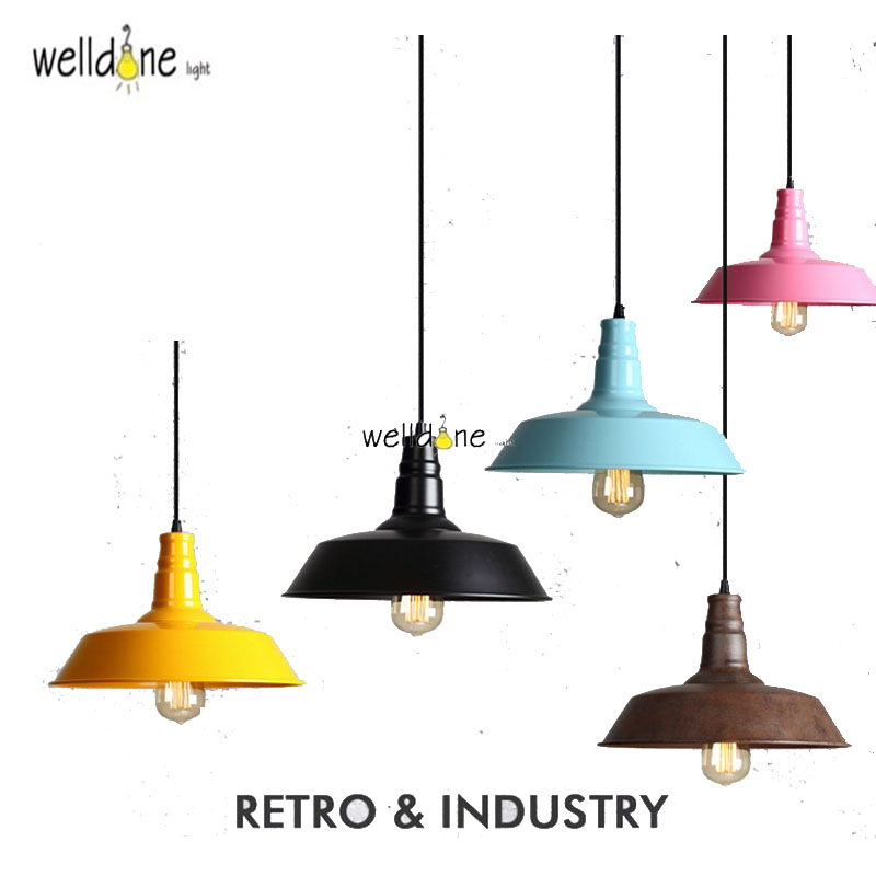 100% De Qualité Loft Lampes Suspendues Industrielles Vintage Rh Edison Lampe Suspendue E27 110 220 V Lampes Suspendues Pour La Décoration Intérieure Restaurant Luminarias