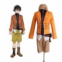Gelecek Günlüğü Mirai Nikki Amano Yukiteru Yuki Cosplay Kostüm Anime Cosplay Suit Cadılar Bayramı Kostüm Erkekler için Özel