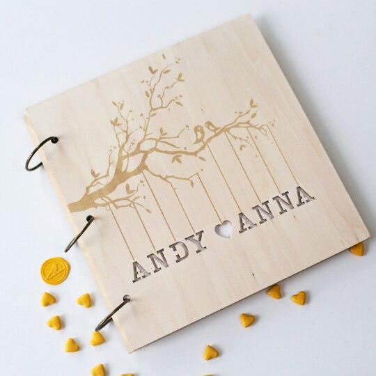 Free Wedding Book: Custom Wedding Guest Book Alternative // Unique Wedding
