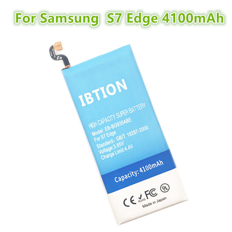 IBTION Replacement-Battery S7-Edge 4100mah G9350 Samsung Galaxy For G935f/G9350/G935