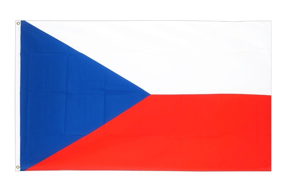 Xiangying 90*150cm CZ CZE CZECH Flag For Decoration