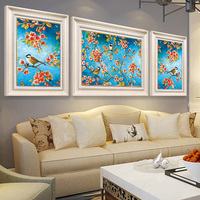 5d Diy Diamond Painting The Spring Is Strong Cross Stitch Round Rhinestone Diamond Mosaic Picture Home