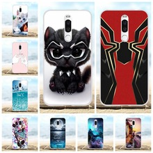 цена на For Meizu X8 Protective Case Ultra-slim Soft TPU Silicone For Meizu X8 Cover Cute Animal Patterned For Meizu X8 Bumper Shell