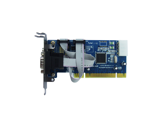 iocrest 2-ports PCI Controller Card Based onSB16C1053 Chipset,Support Low Profile Bracket with short sheetiron