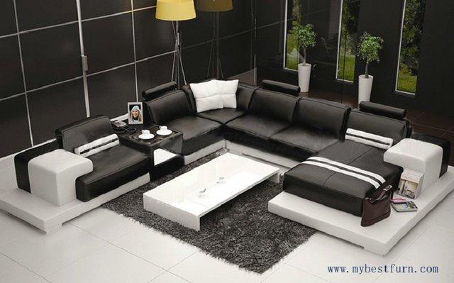 Mehrere Kombination Elegante Moderne Sofa Grosse Grosse Luxus Mode
