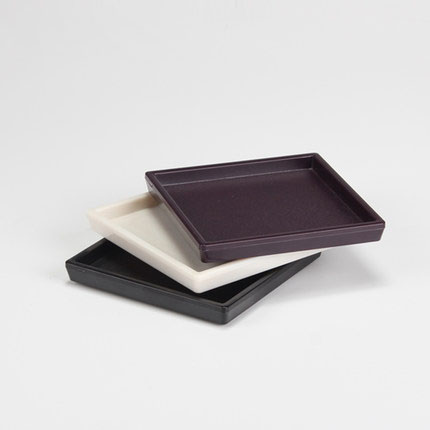 ABS Simple Style Hotel Bathroom Small Soap Dish 9*9cm