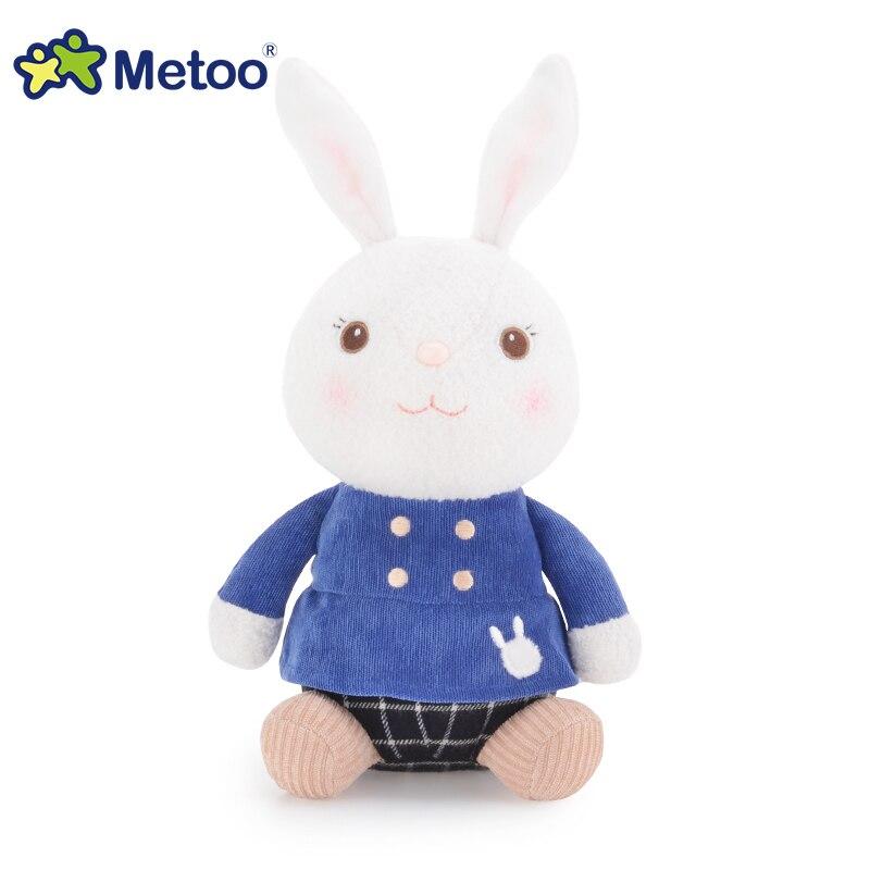 Metoo Детские куклы мягкая игрушка 27 см Tiramitu кролик сидит мягкие игрушки для детей мягкие Животные для малышей на день рождения Рождественски...