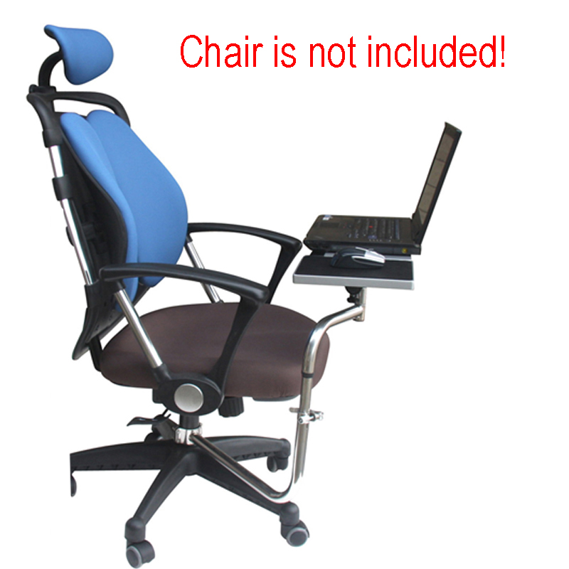 BL OK030 Multifunctional Full Motion Chair Clamping Keyboard Support Laptop  Desk Holder Mouse Pad For