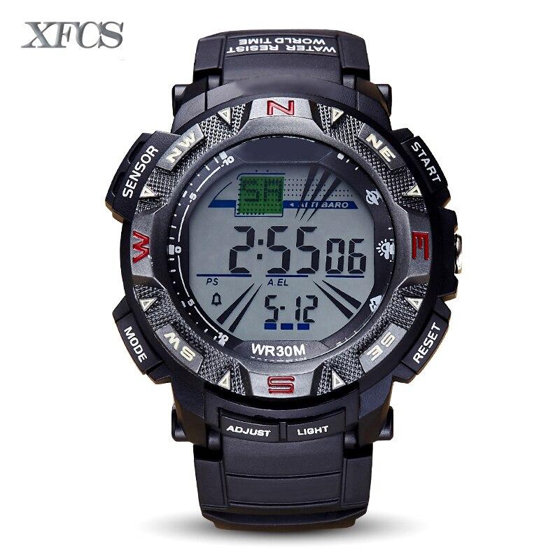 compare prices on waterproof digital watches online shopping buy xfcs 2017 waterproof wrist digital watches for men digitais watch running mens man digitales shock clock tactical stopwatch