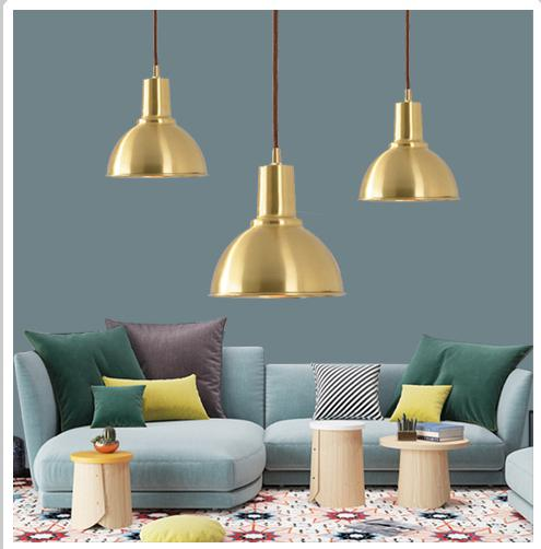 Post-modern mini copper Hanging Lamp stair pendant lights Luxury Nordic Single Luminaire Suspendu Bar counter suspension lightsPost-modern mini copper Hanging Lamp stair pendant lights Luxury Nordic Single Luminaire Suspendu Bar counter suspension lights