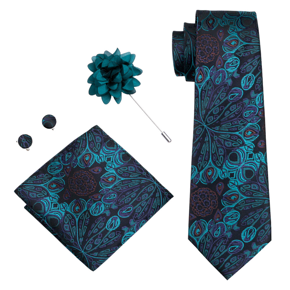DiBanGu Men Ties Designers Fashion Silk Neck Tie Wedding Business 8.5CM Skinny Necktie Jacquard Woven Tie For Men XH-612