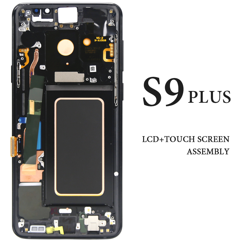 6.2 inch Super AMOLED Replacement For Samsung S9 plus G965 G965F LCD Screen Display Digitizer Touch Screen for S9 plus SM-G965F