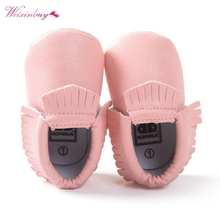 26 styles Spring Autumn Baby Shoes Newborn Boys Girls PU Lea