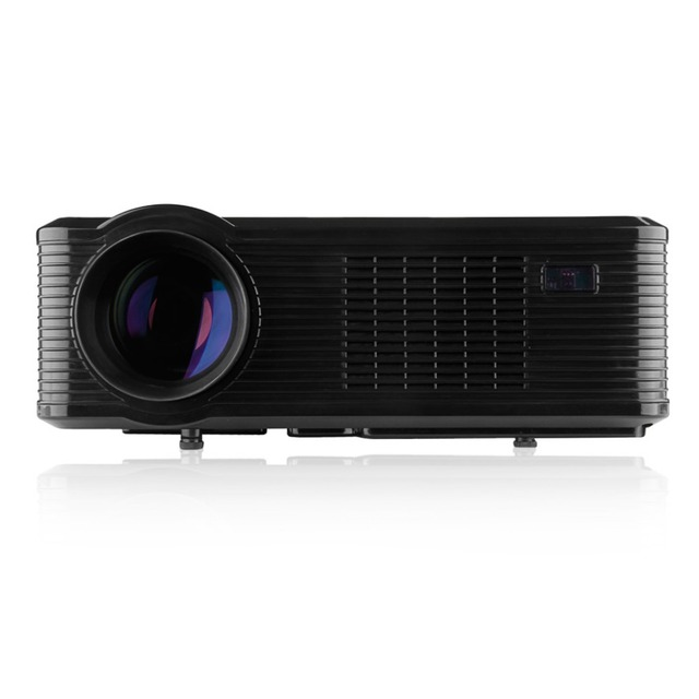 Top Excelvan Cl740D Proyector LCD 2400 Lúmenes de Cine En Casa HD de Múltiples entradas AV/VGA/HDMI/USB/DTV Proyector/Beamer