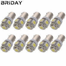 1PC BA9S 5smd clearance lights reading lamp dome lamp led Bulbs license plate lamp Car-Styling signal lights for cars DC 12V