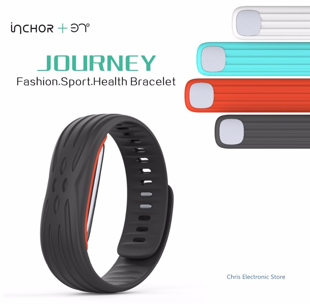 Original 37 Degree Wristband Waterproof IP67 Watch Bluetooth 4.1 Smartwatch Journey Heart Rate Tracker Smart Watch with USB Plug