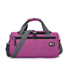 3c509b142cd8 Sports Bags For Gym Women Men Gym Fitness Bag Waterproof Cylinder One  Shoulder Outdoor Sport bag