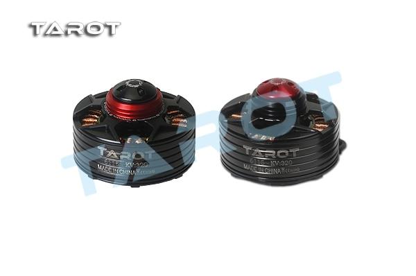 Tarot 6115 320KV Self-locking Brushless motor CW Red cover TL4X005 CCW Black cover TL4X003