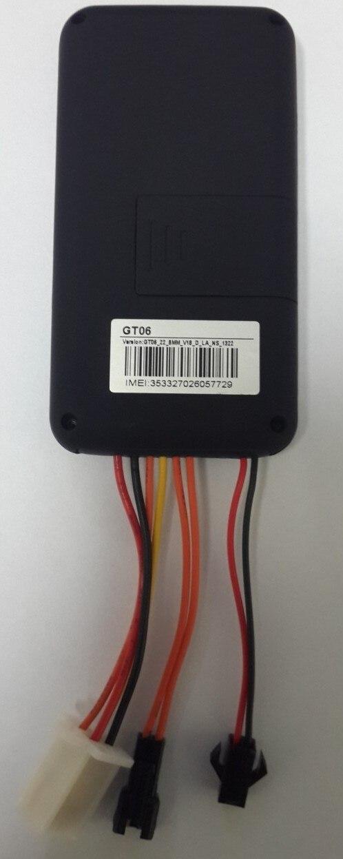 imágenes para Garantizado 100% 4 bandas car tracker gps GT06 enlace de Google GPS plataforma de datos de alta velocidad envío gratis