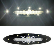 1 шт. 18x белый светодиодный потолочный светильник для BMW MINI Cooper S R56(2006-2008) JACK UNION flag design