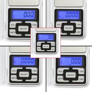 Image 2 - NEWACALOX 200g x 0,01g Mini Präzision Digitale Waage für Gold Bijoux Sterling Silber Skala Schmuck 0,01 Gewicht Elektronische waagen
