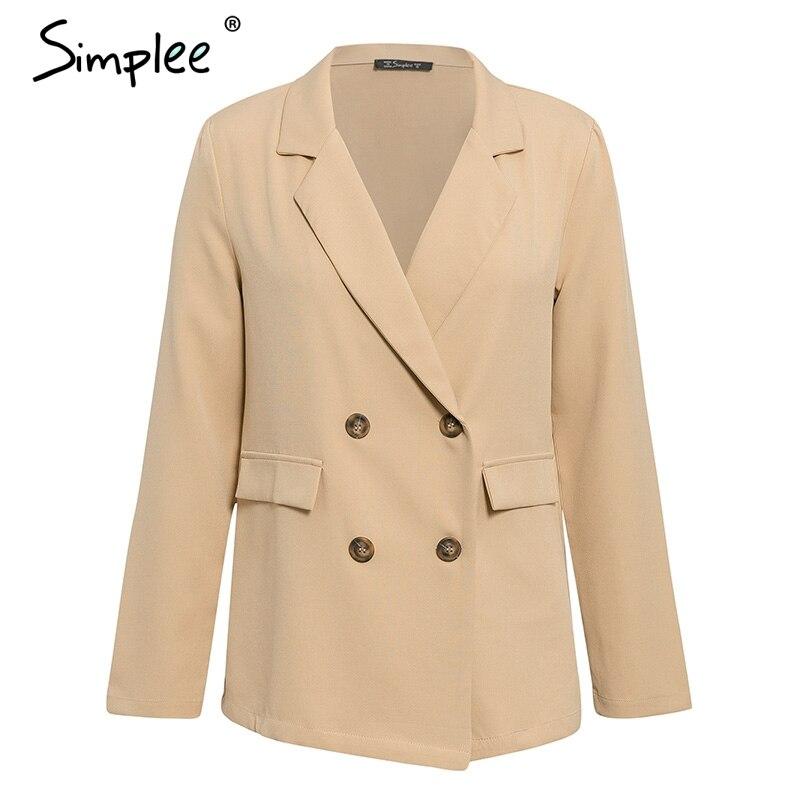 Simplee Elegant two-pieces women short suit Casual streetwear suits female blazer sets Chic 19 office ladies women blazer suit 17