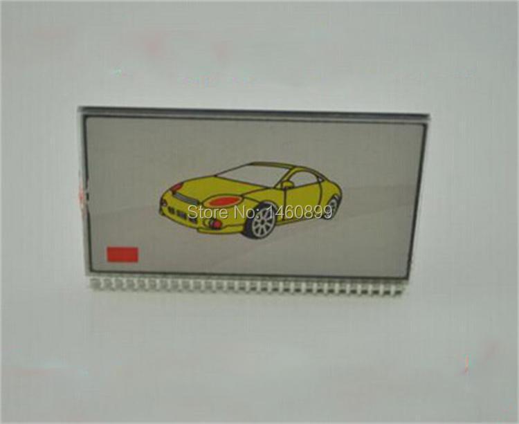 Venta al por mayor M7 Pantalla LCD para el sistema de alarma de coche 2 vías ruso Scher-Khan Magicar 7 llavero Scher Khan M7 lcd control remoto