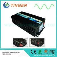 TEP 1000W off grid tie power invertor AC output 110V 120V 220V 230V with AU/EU socket DC input 12V 24V 1KW Pure sine wave