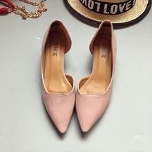 fashion  Women's shoes comfortable flat shoes New arrival flats  -716-1-  Flats shoes large size Women shoes