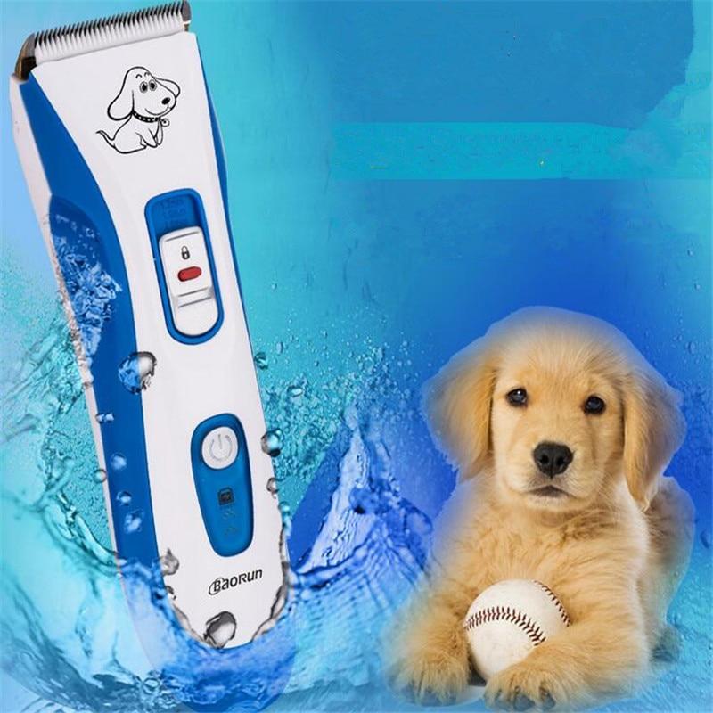 Professionnel imperméable chien toilettage tondeuse pour animaux de compagnie Rechargeable chat lapin mouton Animal rasoir tondeuse Machine de découpe